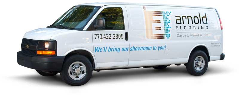 Arnold Flooring Van