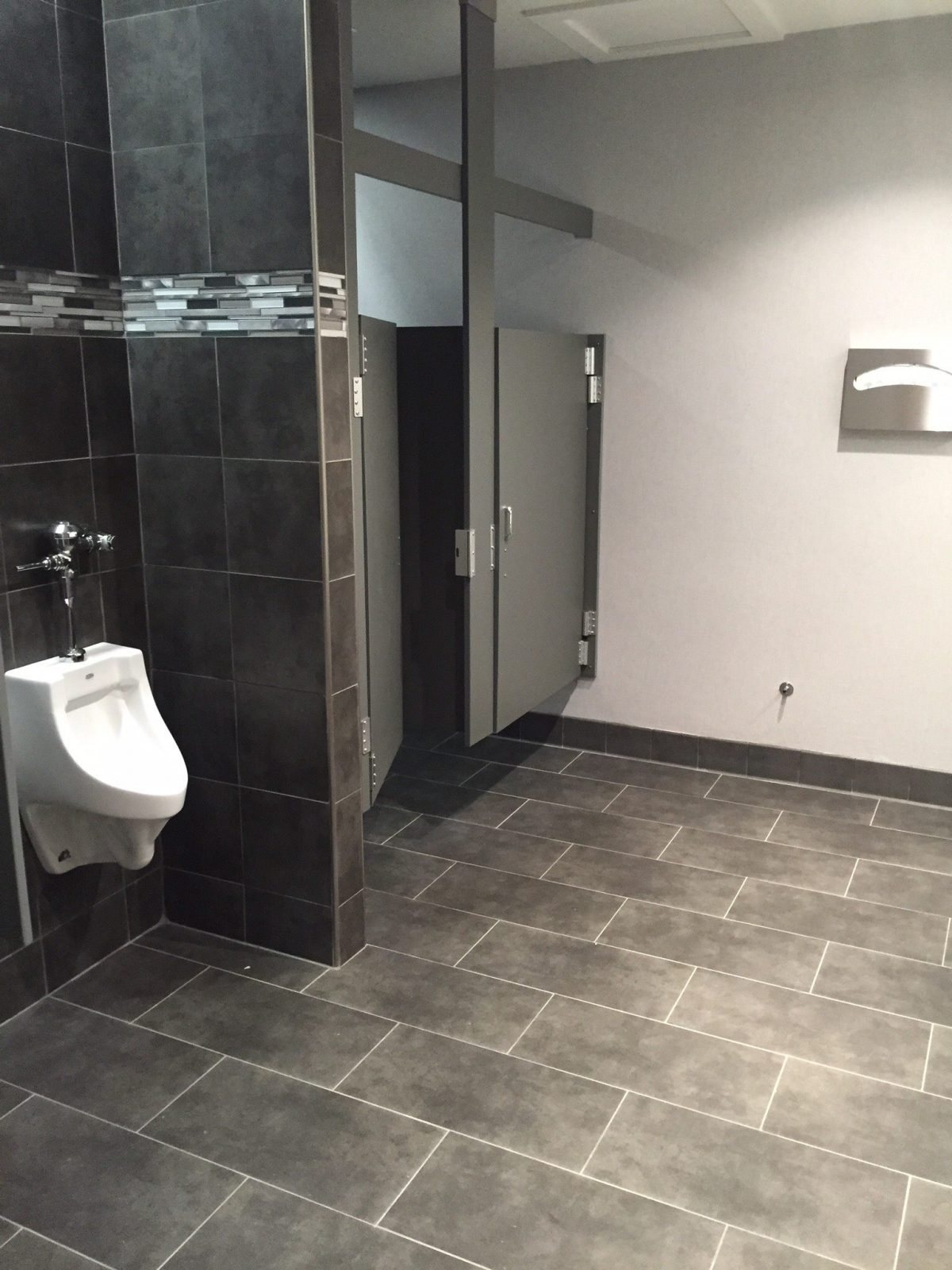 Commercial Bathroom Tile - Arnold Flooring