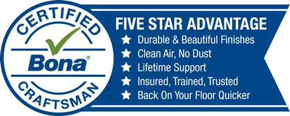 Bona Certified Craftsman - Five Star Advantage