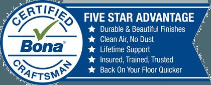 Bona Certified Craftsman - Five Star Advantage
