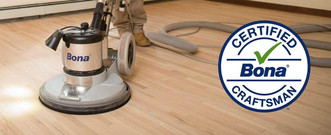 Photo of Floor Finish Restoration - Bona Certified Craftsman