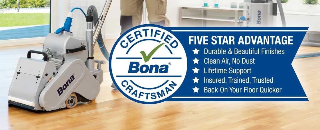 Certified Bona Craftsman Five Star Advantage