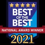 best of the best logo/award