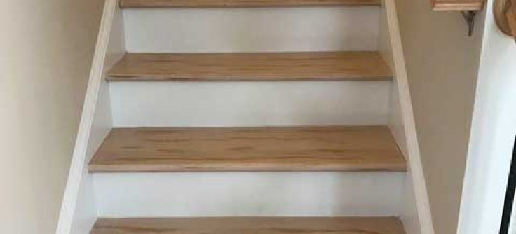 Wood Floor Staircase